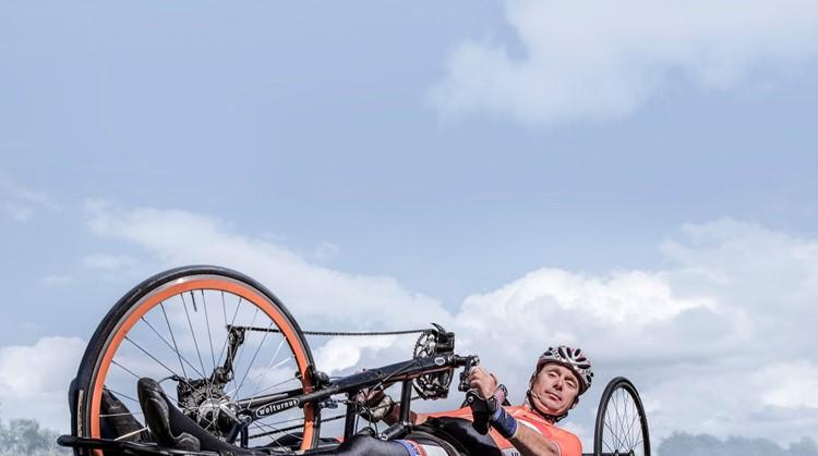 Edwin ter Steege: 'Sport geeft me de mogelijkheid om mijn eigen grens op te zoeken en te verleggen.' afbeelding nieuwsbericht