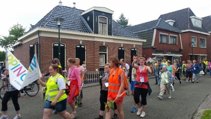 Geslaagde eerste aangepaste Avond4daagse Appingedam afbeelding nieuwsbericht