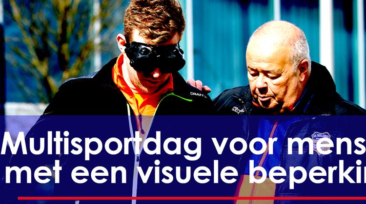 Multisportdag Lelystad voor mensen met een visuele beperking afbeelding nieuwsbericht