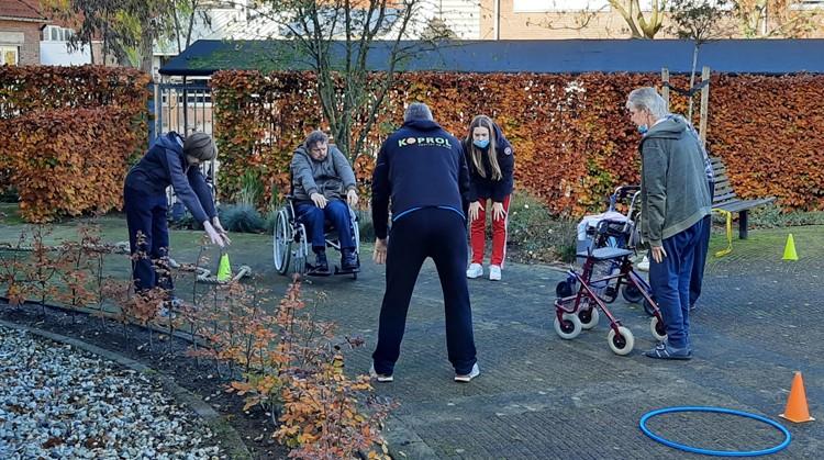 Uniek Sporten organiseert drie weken lang sportactiviteiten voor bewoners op woongroepen afbeelding nieuwsbericht