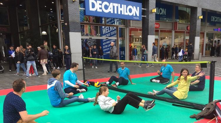 Decathlon-Aangepast Sportenplein succes! afbeelding nieuwsbericht