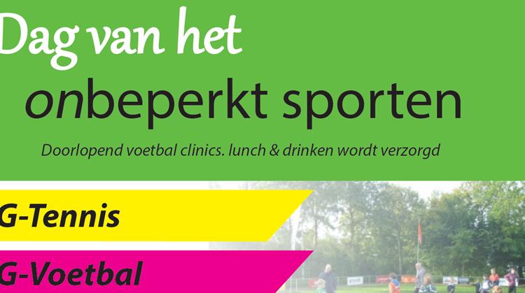 Dag van het onbeperkt sporten afbeelding nieuwsbericht