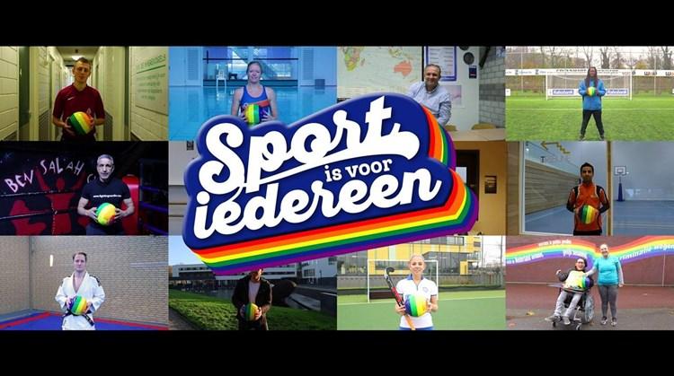 """""""sporten is voor iedereen!"""" afbeelding nieuwsbericht"""