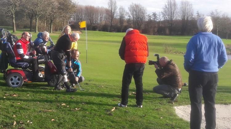 Golfvereniging Leeuwenbergh verwelkomt als eerste vereniging in Nederland gehandicapte golfers afbeelding nieuwsbericht