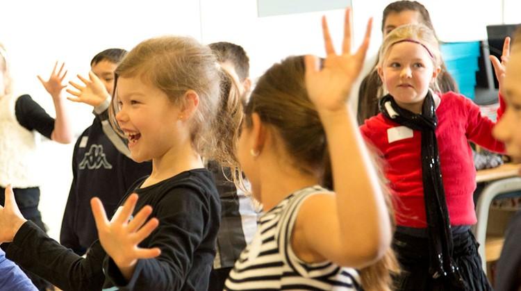 dansen voor kinderen uit het speciaal onderwijs afbeelding nieuwsbericht