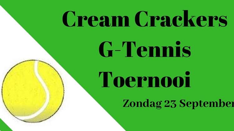 Cream Crackers G tennis toernooi afbeelding nieuwsbericht