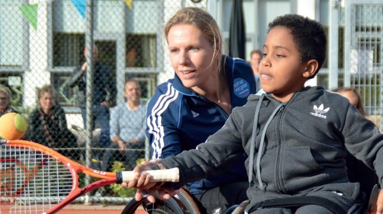 Tennis mee in Houten - Esther Vergeer Foundation op 28 oktober afbeelding nieuwsbericht