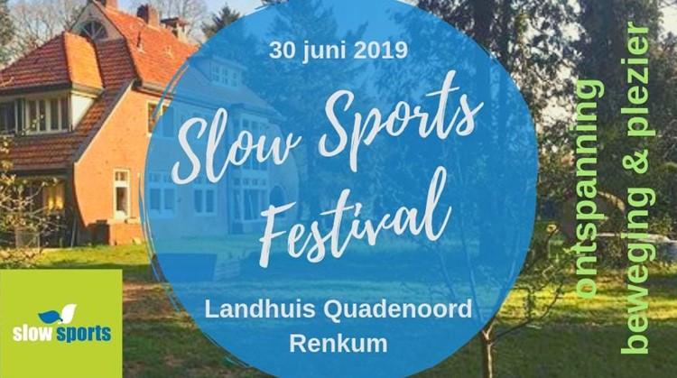 Slow Sport Festival afbeelding nieuwsbericht
