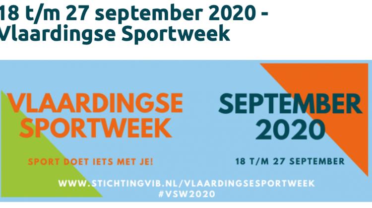 Nieuwsbericht Vlaardingse Sportweek afbeelding nieuwsbericht