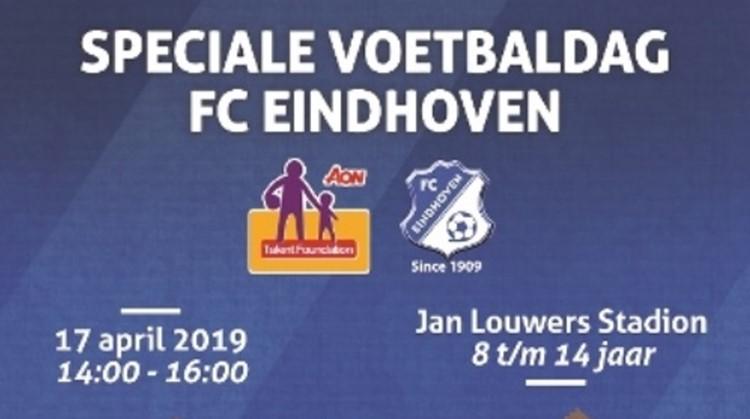 Speciale Voetbaldag in stadion FC Eindhoven afbeelding nieuwsbericht