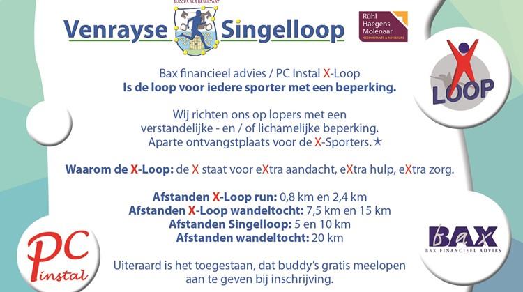 X-Loop Venrayse Singelloop afbeelding agendaitem