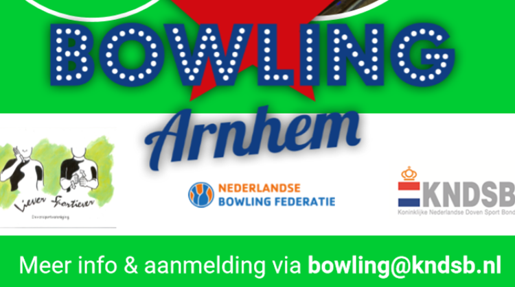 Maak kennis met de bowlingsport voor auditief beperkten afbeelding nieuwsbericht