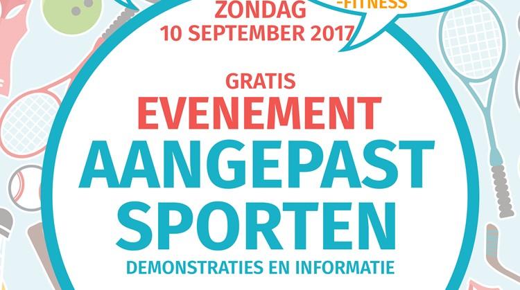 Evenement Aangepast Sporten afbeelding nieuwsbericht