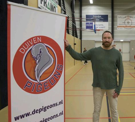 Basketbalvereniging Pigeons, je kunt er bijna niet omheen afbeelding nieuwsbericht