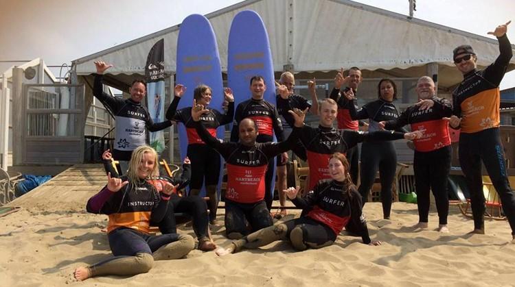 Zaterdag 22 juli surfclinic bij Hartbeach Scheveningen afbeelding nieuwsbericht