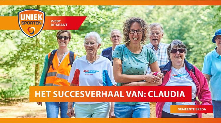 Het succesverhaal van sportcoach Claudia uit de gemeente Breda afbeelding nieuwsbericht