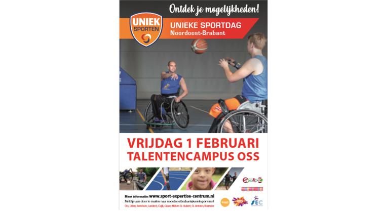 1 Feb: De Unieke Sportdag 2019 afbeelding nieuwsbericht