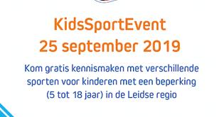 KidsSportEvent - Basalt - Leiden - woensdag 25 september afbeelding nieuwsbericht