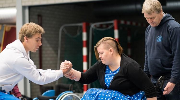 """Cursus """"Sporten met een rolstoel"""" afbeelding nieuwsbericht"""