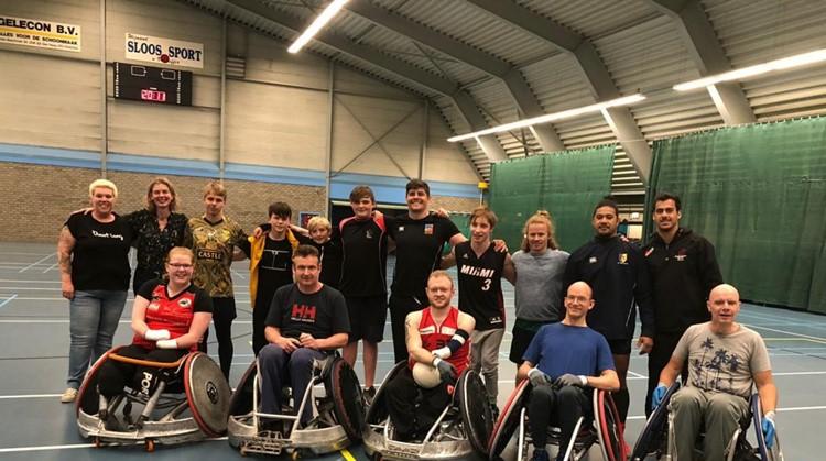 QR DIOK Dragons zoekt nieuwe leden voor het rolstoelrugbyteam afbeelding nieuwsbericht