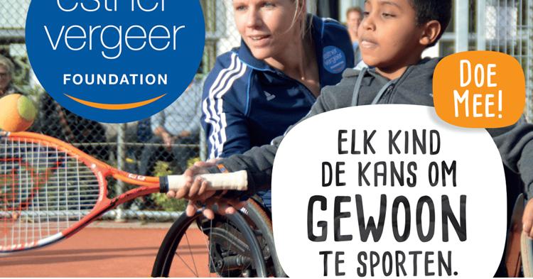 Klimmendaal en de Esther Vergeer Foundation geven clinics (rolstoel)tennissen in Apeldoorn en Arnhem! afbeelding nieuwsbericht