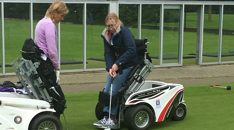 Golfclinic voor sporters met een beperking bij Golfclub de Semslanden  woensdag 23 juni 2021 a.s. ! afbeelding nieuwsbericht