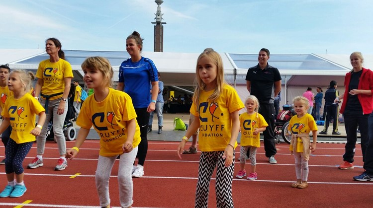 Dansclinic voor kinderen bij sportcentrum Reade in Amsterdam afbeelding nieuwsbericht