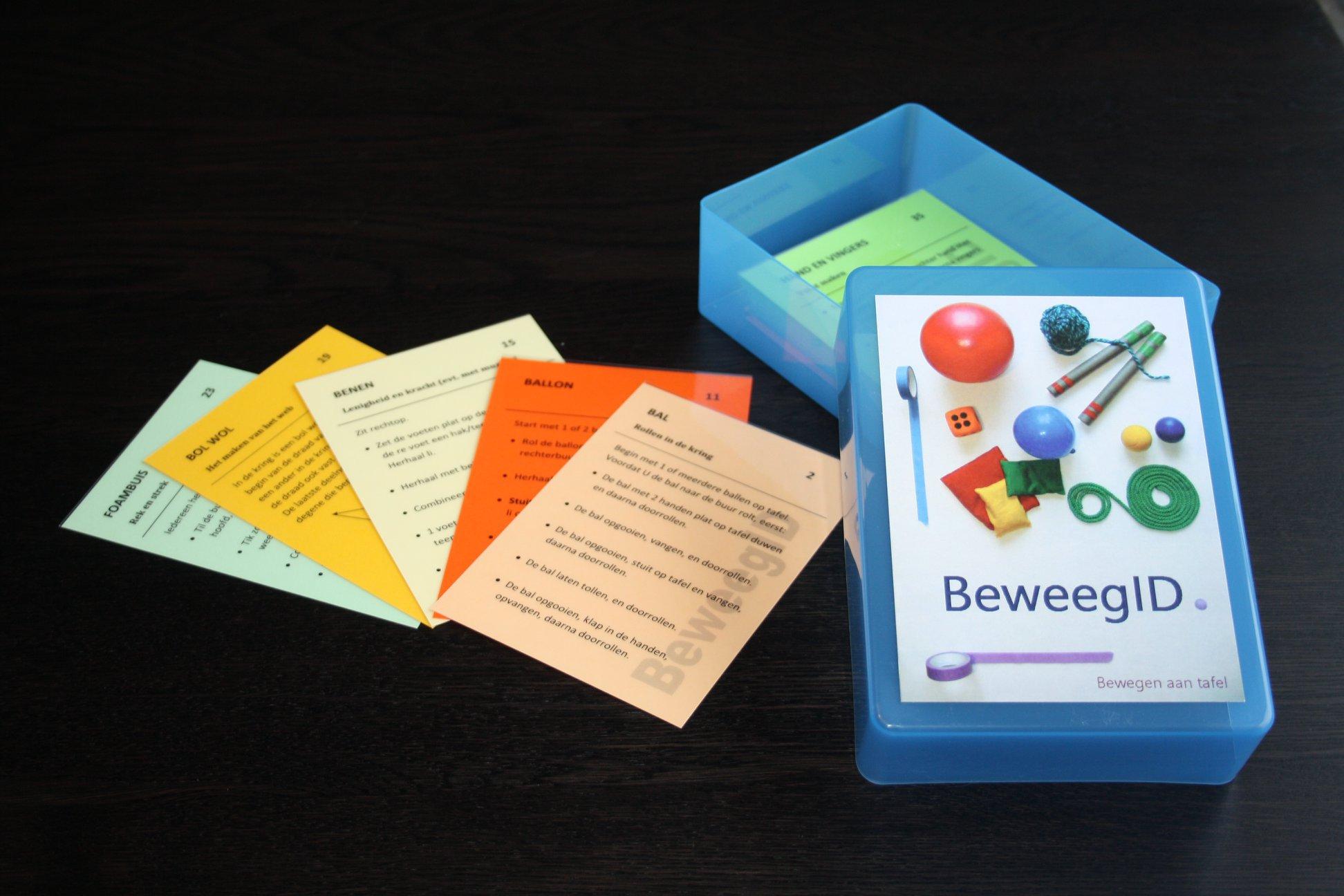 beweegbox met instructiekaarten