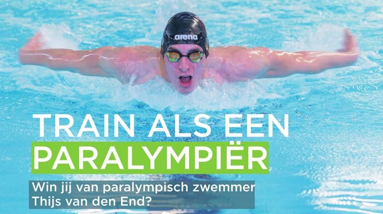 Train als een paralympiër in Woerden. Win jij van Thijs van den End? afbeelding agendaitem