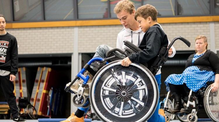 Aanmelden voor rolstoeltraining nog steeds mogelijk! afbeelding nieuwsbericht