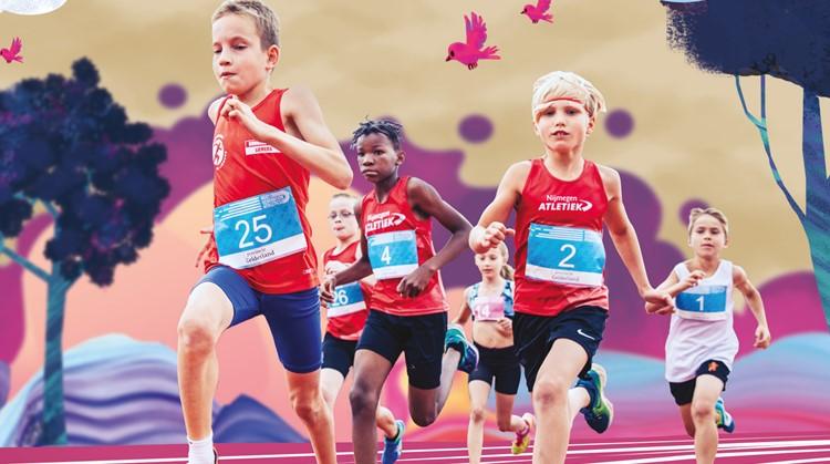 Special Kidsrun bij Internationale atletiekwedstrijd Next Generation Athletics afbeelding nieuwsbericht