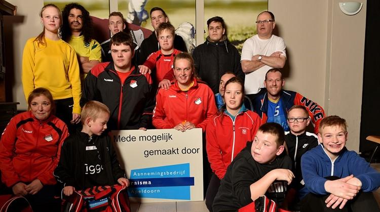 Voetbaltassen mede dankzij Fonds Gehandicapten Sport afbeelding nieuwsbericht