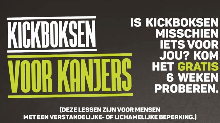 Kickboksen voor mensen met een beperking afbeelding nieuwsbericht
