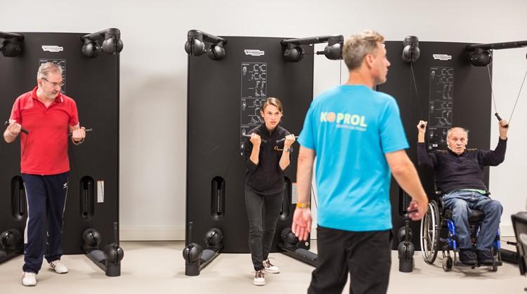Flexibel fitnessen bij Koprol in de Sint Maartenskliniek afbeelding nieuwsbericht