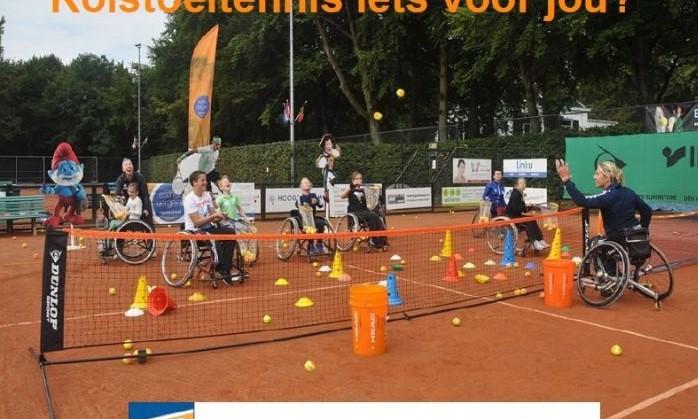 Gratis en vrijblijvend kennismaken met de mooie rolstoeltennissport bij TV Rapiditas! afbeelding nieuwsbericht