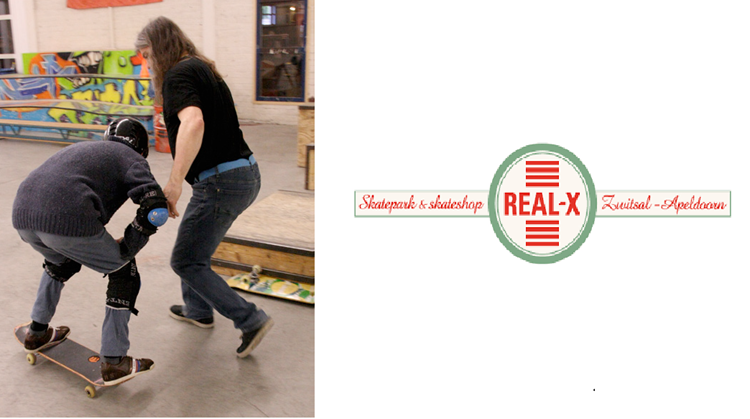Auti-skateboardles bij Real-X afbeelding nieuwsbericht