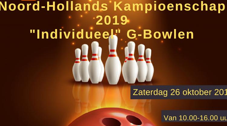 6de editie van het Noord-Hollands kampioenschap G-Bowlen!! afbeelding nieuwsbericht