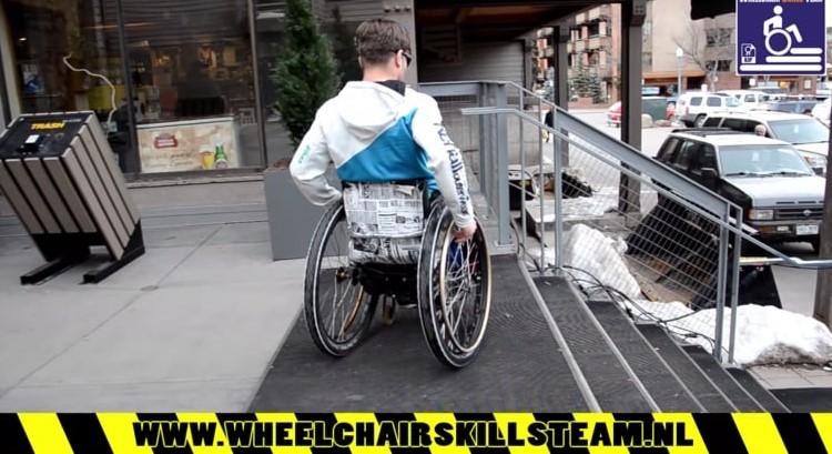 Training rolstoelvaardigheid afbeelding nieuwsbericht
