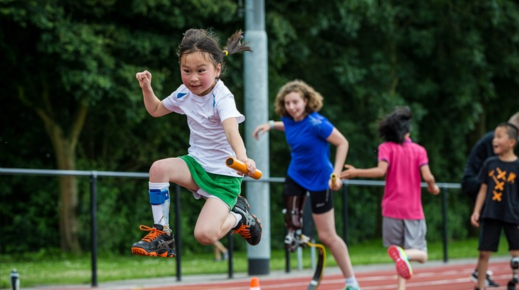 Atletiek kamp in Zeist voor kids met een lichamelijke beperking! afbeelding nieuwsbericht