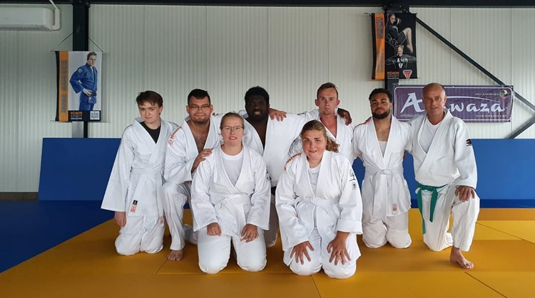 A-Judo bij de Albero zorggroep  afbeelding nieuwsbericht