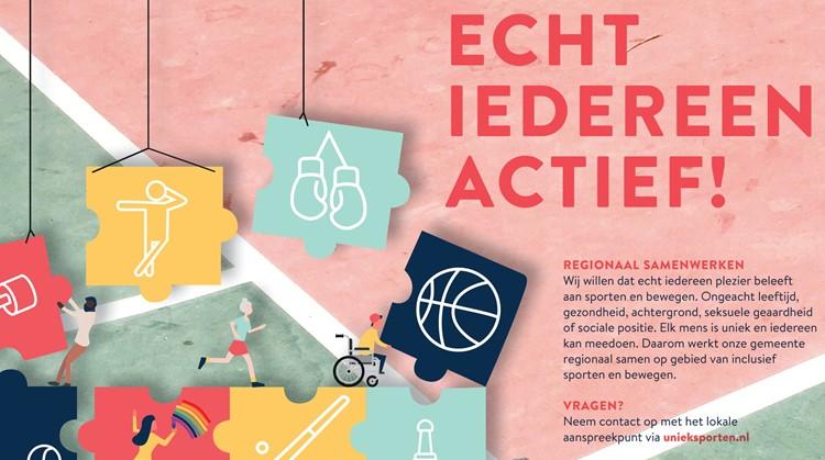 Inclusief sporten en bewegen tijdens de Nationale Sportweek 2020 afbeelding nieuwsbericht