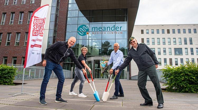 Unieke samenwerking tussen gezondheidszorg en sport in Amersfoort afbeelding nieuwsbericht