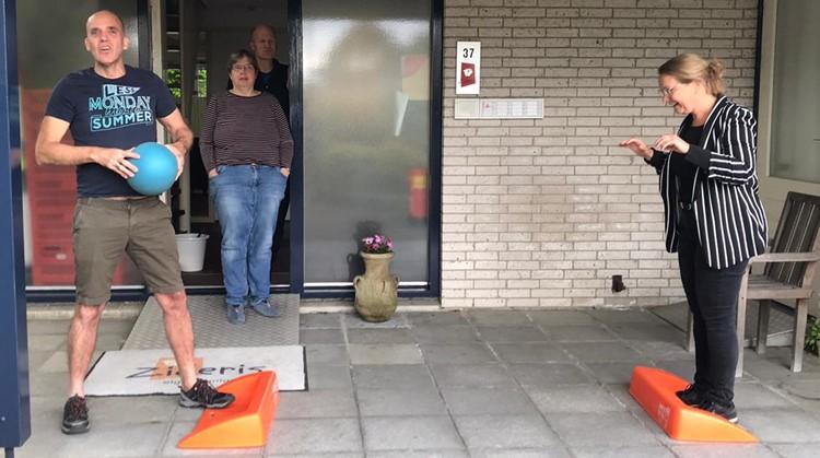 Team Sportservice brengt bewoners Zideris in beweging afbeelding nieuwsbericht