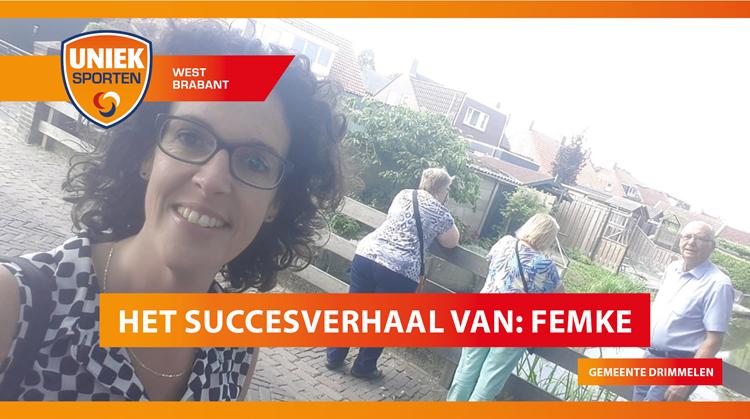 Het succesverhaal van sportcoach Femke uit gemeente Drimmelen afbeelding nieuwsbericht