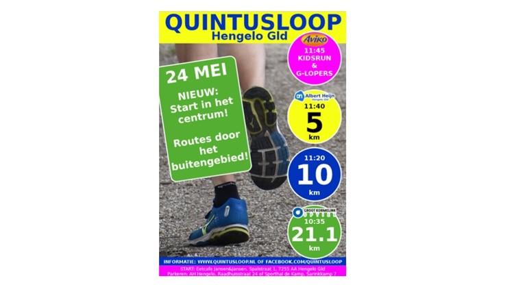 Quintusloop afbeelding nieuwsbericht