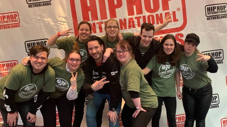 DJF special heroes dansen eerste wedstrijd voor mensen met een beperking afbeelding nieuwsbericht