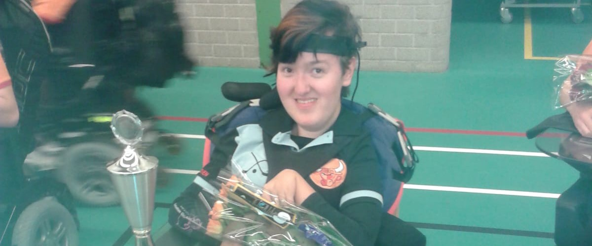 Luka, rolstoelhockeyer