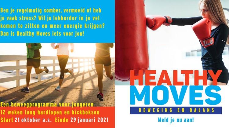 Healthy Moves voor jongeren tussen de 14 en 18 jaar met psychische en/of psychosomatische klachten afbeelding nieuwsbericht