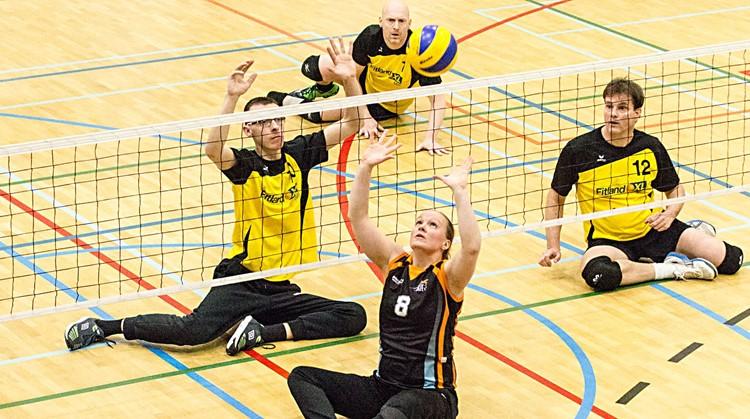 Proeftrainingen zitvolleybal VCE/PSV, Eindhoven. afbeelding nieuwsbericht