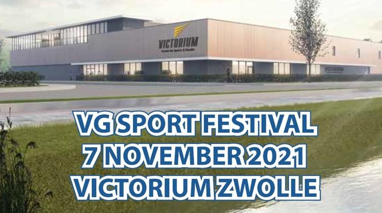 VG Sport organiseert eerste sportfestival in Victorium Zwolle afbeelding nieuwsbericht